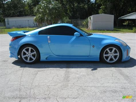 custom nissan 350z interior 2003 custom blue pearl nissan 350z enthusiast coupe