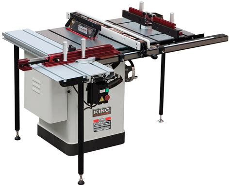 King Industrial Kc 26fxt I30 Deluxe Saw 10 Quot Table 30
