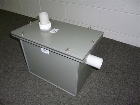 plaster traps for sinks sealed lid plaster trap by storm plastics pty ltd
