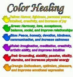healing colors color healing spiritual light