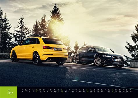 Kalender Auto Audi Kalender 2017 Din A2 Audi S Rs R8 Auto