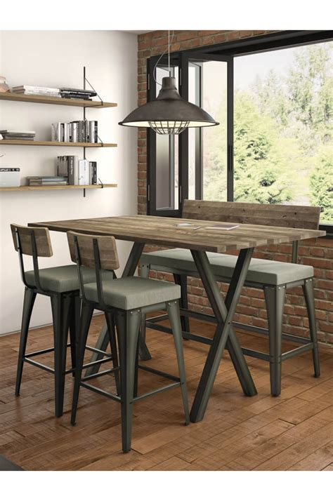 pub height table with bench pub table with bench choice image table decoration ideas