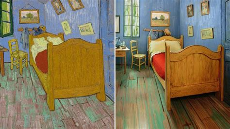 bedroom in arles vincent van gogh the art institute of chicago recreates van gogh s bedroom