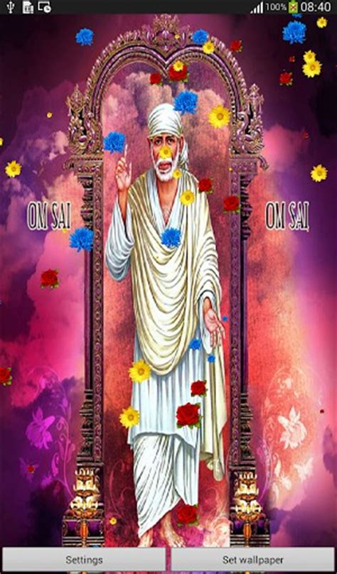 shirdi sai baba  wallpaper app  android