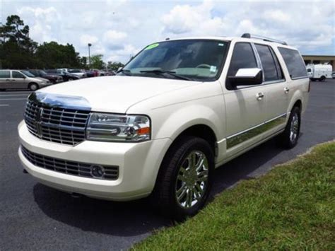 automotive air conditioning repair 2008 lincoln navigator electronic toll collection find used 2008 suv used 5 4 automatic leather white in spring hill florida united states
