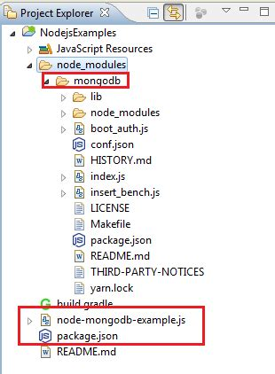 node js tutorial in eclipse nodejs mongodb connection exle free online tutorials