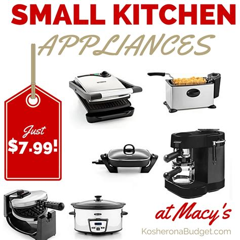 small kitchen appliances on sale macy s better than black friday small appliance sale for