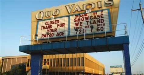 marquee theater seating capacity quo vadis theatre marquee opened 1966 closed 2002
