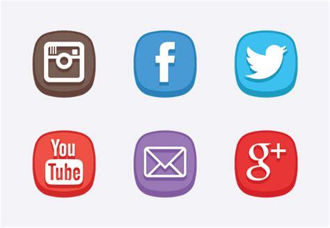 cute social media icons icons