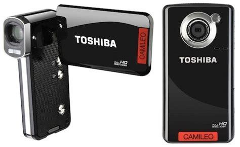 Toshiba Cameleo Comcoder toshiba camileo p100 and b10 pocket camcorders