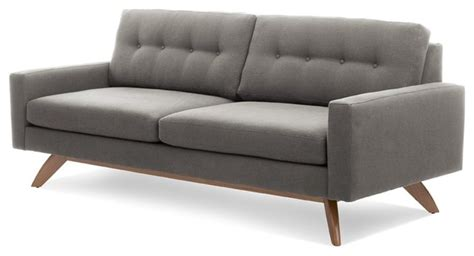 how to tell if a couch is real leather truemodern luna sofa modern sofas true modern intended