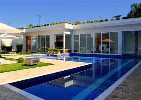 piscina casa casas piscinas projetos e fotos