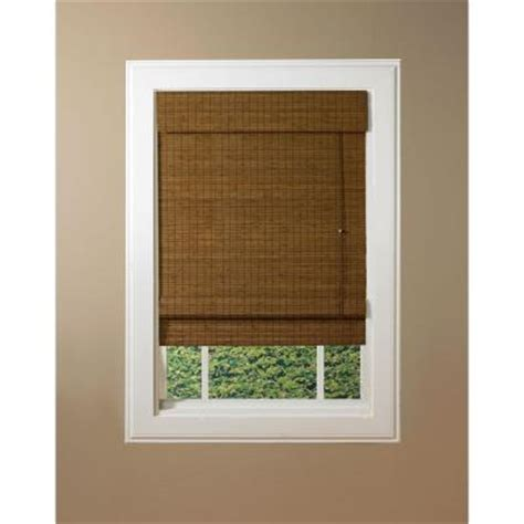 designview maple providence bamboo shade 39 in w