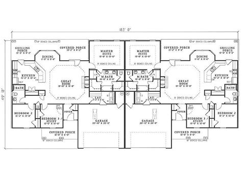 Unique Duplex Plans best 25 duplex plans ideas on duplex house