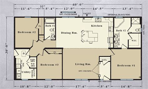 patriot mobile home floor plans