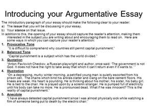 Argumentative Essay Introduction Paragraph by Structuring Your Essay Ppt