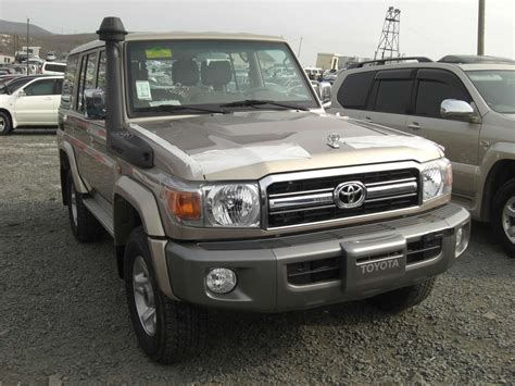 Toyota Land Cruiser 2012 Used 2012 Toyota Land Cruiser Photos 4200cc Diesel