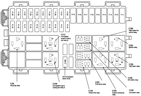 ford focus le is there any place i can get a fuse box layout