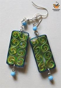 quilling earrings images quilled earrings kalanirmitee creations