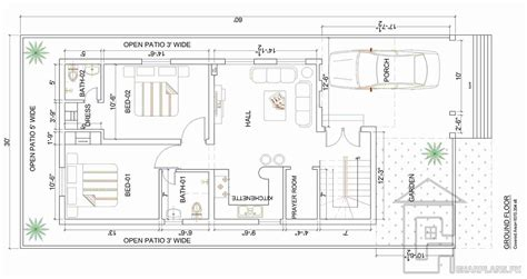 Home Front View Design Ideas 7 marla house map gharplans pk