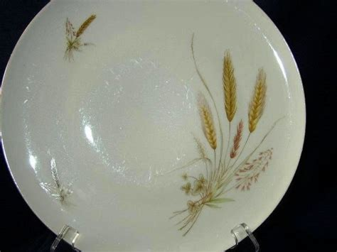 yellow wheat pattern dishes wheat china that great grandma had dishes and flatware