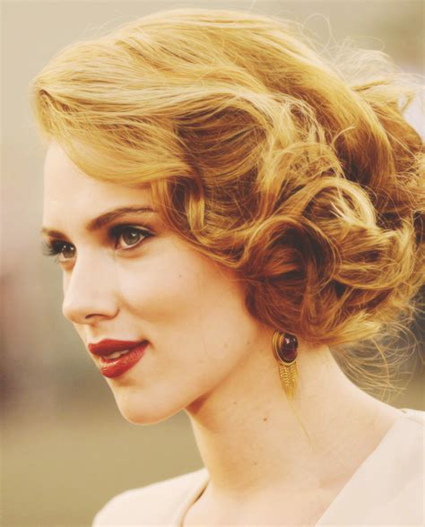 scarlett o hara hairstyle another vintage updo would work well for longer hair and