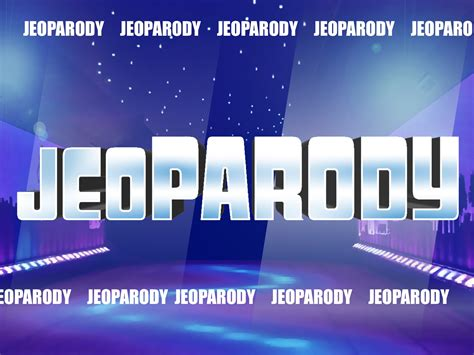 Jeopardy Templates Jeopardy Templates With Sound