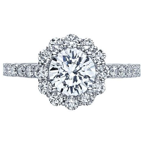 Tacori Engagement Rings Gold Floral Halo Setting by 55 Best Rings Images On Engagements