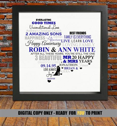 gift ideas for 20 year best 25 20 year anniversary gifts ideas on
