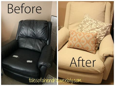reupholster vinyl couch 1000 ideas about recliner chair covers on pinterest