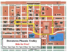 Home Design Center Scottsdale by Downtown Phoenix Trolley Route Map Downtown Voices Coalition