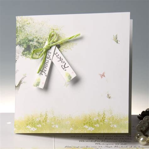 mint green wedding invitations country rustic mint green folded butterfly wedding