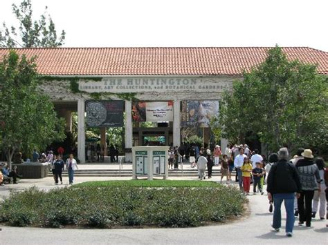 the huntington library collections and botanical gardens entrance picture of the huntington library
