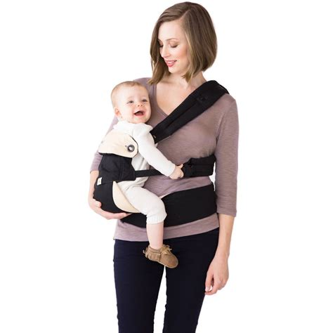 Ergo Baby 360 Carrier ergobaby four position 360 carrier black camel