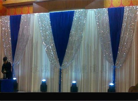 Wedding Background Drapes by 3m 6m White Wedding Stage Background Silk Drape