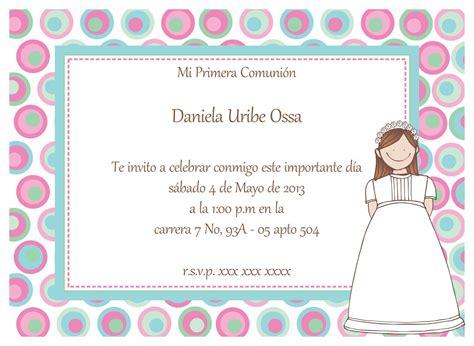 invitaciones primera comuni n tarjetas e invitaciones invitaciones de comuni 243 n ni 241 os gratis para fondo de