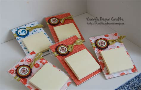 Post It Craft Paper - chapman place post it note