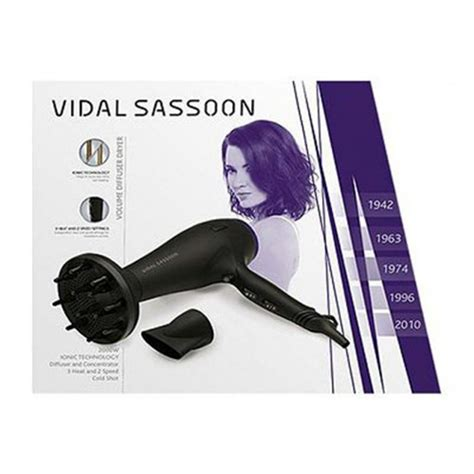 Vidal Sassoon Hair Dryer Diffuser Reviews vidal sassoon vsdr5834duk volume diffuser dryer
