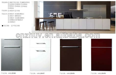 finished kitchen cabinet doors high glossy white uv lacquer kitchen cabinet doors view