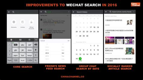 Wechat Search Wechat Index Search Trends Opens Up China Channel