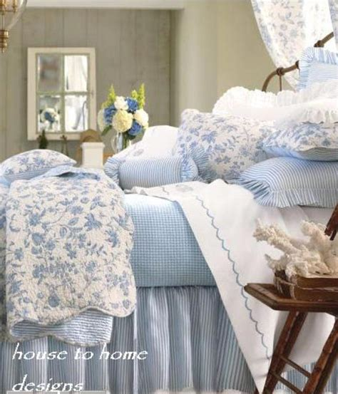 french blue bedding brighton blue toile quilt by williamsburg