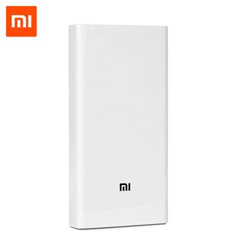 Xiaomi Power Bank 20000 Mah Original 100 aliexpress buy original xiaomi power bank 20000mah