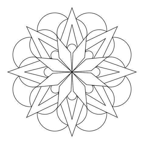 mandala art coloring pages easy best 25 simple mandala ideas on pinterest mandela art