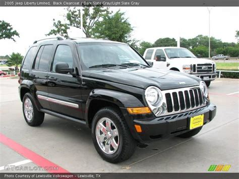 black jeep liberty 2005 2005 jeep liberty limited in black clearcoat photo no