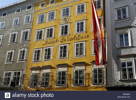 mozart born in austria house where mozart was born in 1756 salzburg austria