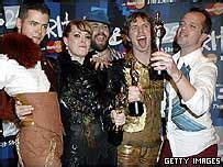 Scissor Do The Brit Awards by News Entertainment Scissor A Cut Above