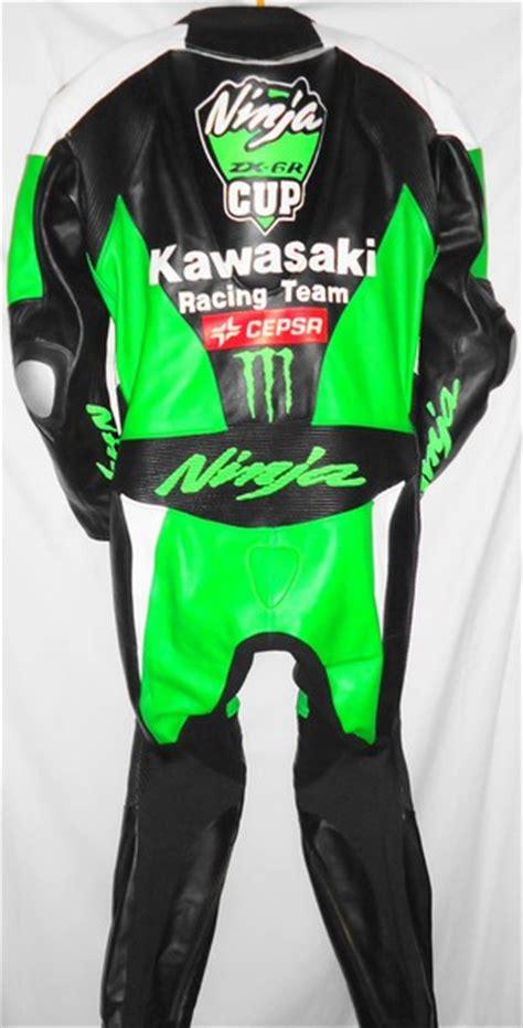 Motorrad Lederkombi Kawasaki by Lederkombi Einteiler Kawasaki Pas Gr 50 Neu Ebay