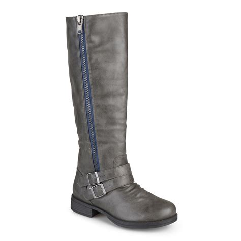 kohls grey boots journee collection boots