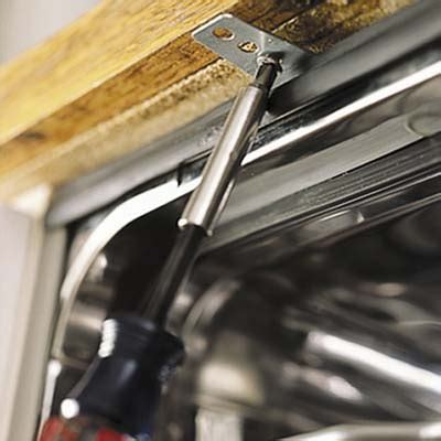 Dishwasher Installation Granite Countertop by On The Bob How To How To Install A Dishwasher