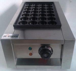 Cetakan Donat Bulat Stainless jual mesin takoyaki listrik 28 lubang di malang toko